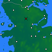 Nearby Forecast Locations - Эггебек - карта