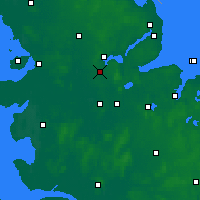 Nearby Forecast Locations - Ягель - карта