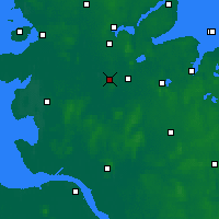 Nearby Forecast Locations - Хон - карта