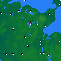 Nearby Forecast Locations - Плён - карта