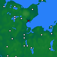 Nearby Forecast Locations - Нойштадт-ин-Хольштайн - карта