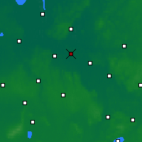 Nearby Forecast Locations - Бремен - карта
