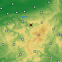 Nearby Forecast Locations - Мешеде - карта