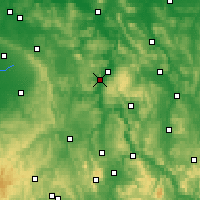 Nearby Forecast Locations - Хёкстер - карта