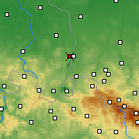 Nearby Forecast Locations - Гёрлиц - карта