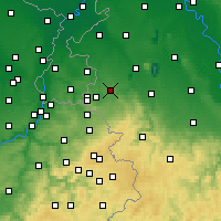 Nearby Forecast Locations - Вюрзелен - карта
