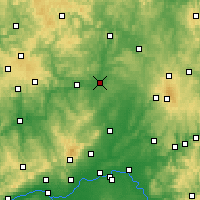 Nearby Forecast Locations - Гисен - карта