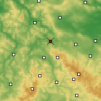 Nearby Forecast Locations - Айзенах - карта