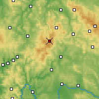 Nearby Forecast Locations - Рён - карта