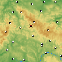 Nearby Forecast Locations - Зуль - карта