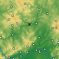 Nearby Forecast Locations - Вецлар - карта