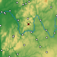 Nearby Forecast Locations - Spessart - карта