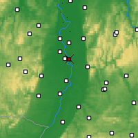 Nearby Forecast Locations - Neuostheim - карта