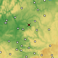 Nearby Forecast Locations - Эринген - карта
