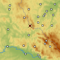 Nearby Forecast Locations - Вальдмюнхен - карта