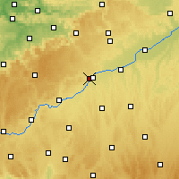 Nearby Forecast Locations - Ульм - карта