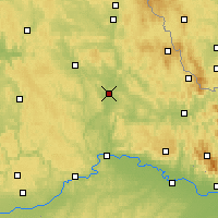 Nearby Forecast Locations - Швандорф - карта