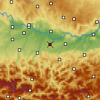 Nearby Forecast Locations - Kematen - карта