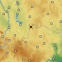 Nearby Forecast Locations - Гмюнд - карта