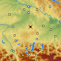Nearby Forecast Locations - Рид - карта