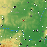 Nearby Forecast Locations - Leiser Berge - карта