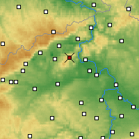 Nearby Forecast Locations - Milešovka - карта