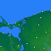 Nearby Forecast Locations - Дзивнув - карта