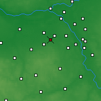 Nearby Forecast Locations - Брвинув - карта