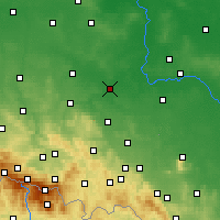 Nearby Forecast Locations - Легница - карта