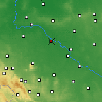 Nearby Forecast Locations - Вроцлав - карта