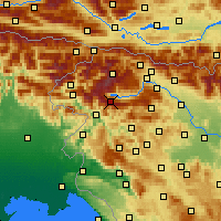 Nearby Forecast Locations - Vogel - карта