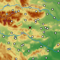 Nearby Forecast Locations - Целе - карта