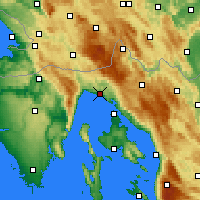 Nearby Forecast Locations - Риека - карта