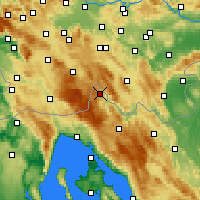 Nearby Forecast Locations - Чабар - карта