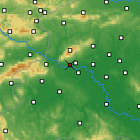 Nearby Forecast Locations - Zagreb Gric - карта