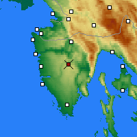 Nearby Forecast Locations - Пазин - карта