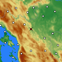 Nearby Forecast Locations - Огулин - карта