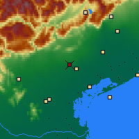 Nearby Forecast Locations - Истрана - карта