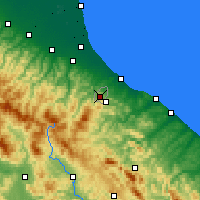 Nearby Forecast Locations - Сан-Марино - карта