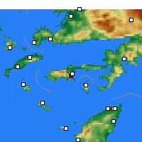 Nearby Forecast Locations - Датча - карта