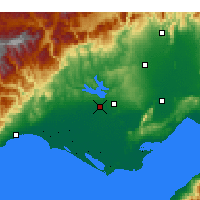 Nearby Forecast Locations - Адана - карта
