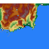 Nearby Forecast Locations - Финике - карта