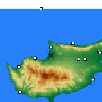Nearby Forecast Locations - Морфу - карта