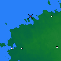 Nearby Forecast Locations - Пакри - карта