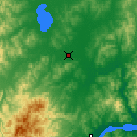 Nearby Forecast Locations - Gorin - карта