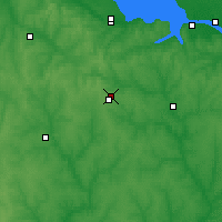 Nearby Forecast Locations - Знаменка - карта