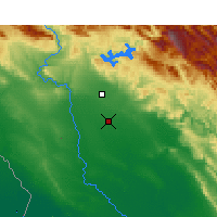 Nearby Forecast Locations - Safi-Abad Dez. - карта