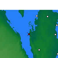 Nearby Forecast Locations - Dukhan - карта