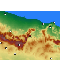 Nearby Forecast Locations - Samail - карта
