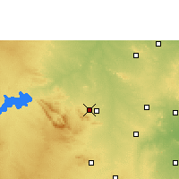 Nearby Forecast Locations - Беллари - карта